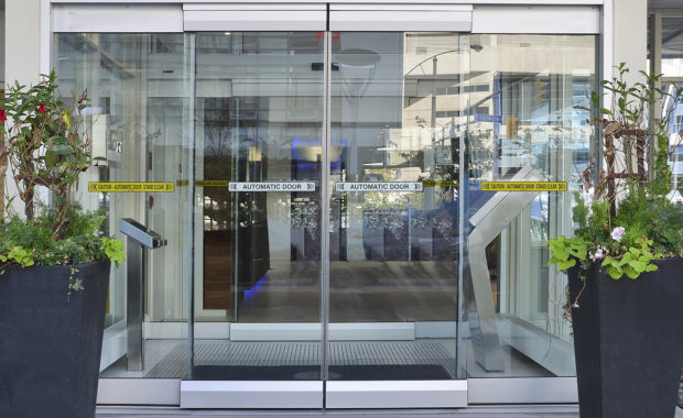 Touchless Automatic Doors